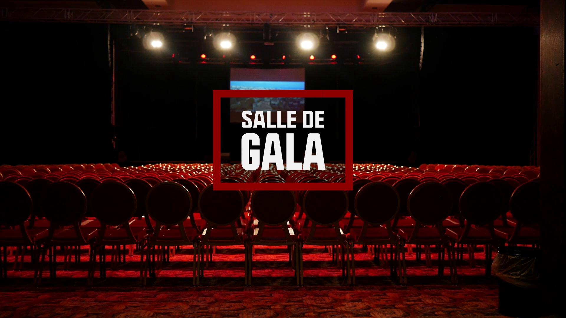 La salle de gala du Casino Terrazur de Cagnes-sur-mer